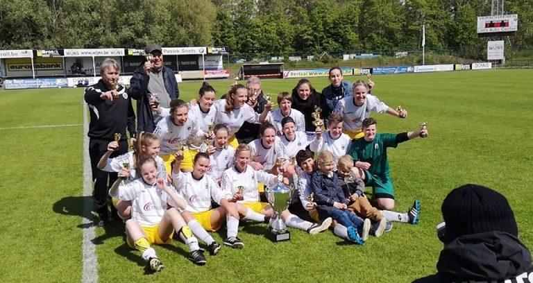Dames B winnen Beker van Antwerpen!
