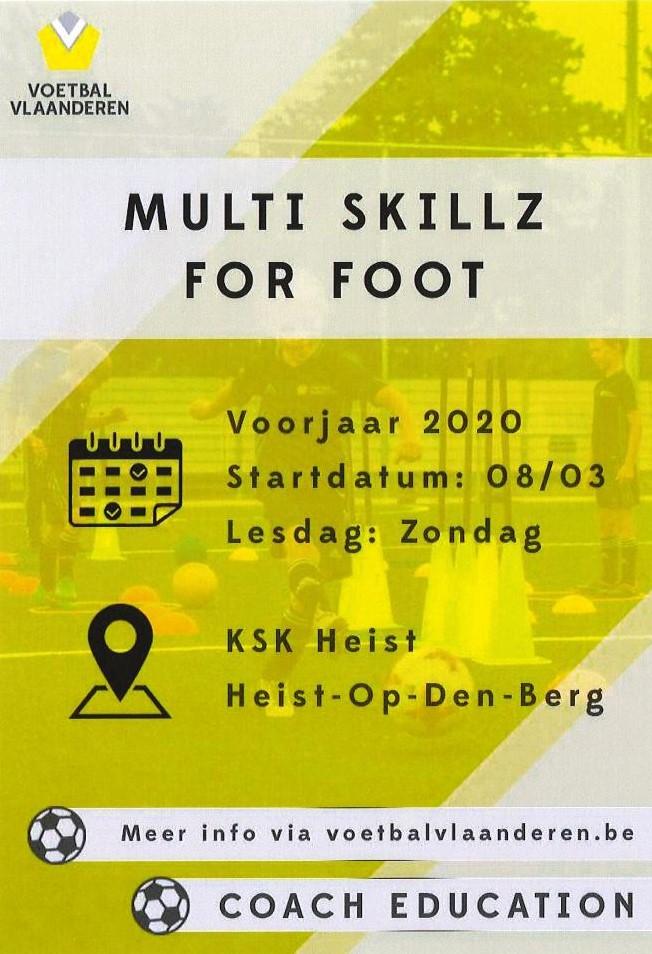 Multi SkillZ for Foot