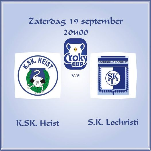Croky Cup:  KSK Heist – SK Lochristi