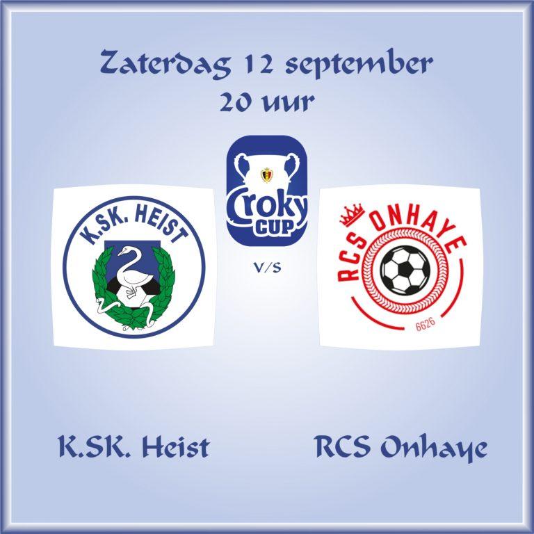 Croky Cup: KSK Heist – CS Onhaye