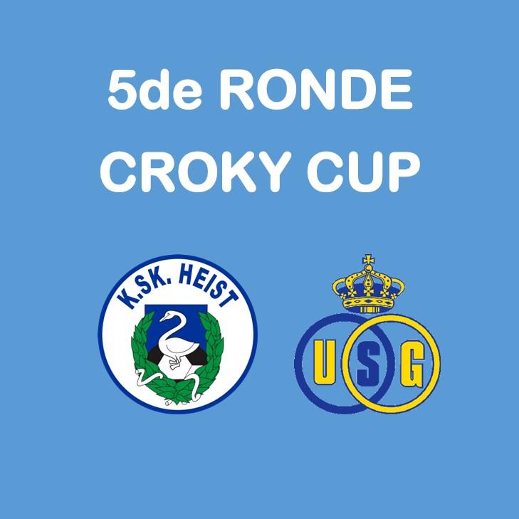 5de ronde Croky Cup.